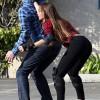 Sofia Vergara Roller Skating On The Set Of Modern Family