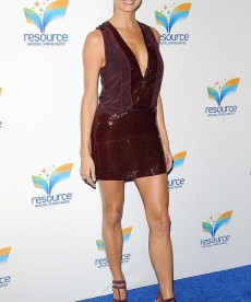 Stacy Keibler Shows Off Her Famous Legs
