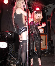 Taylor Momsen Hits The Stage In Her Panties