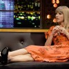 Taylor Swift Relaxes On The Jonathan Ross Show
