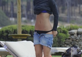 Sexy Bar Refaeli In Porto Cervo