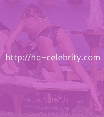 Sexy Abigail Clancy bikini pics.