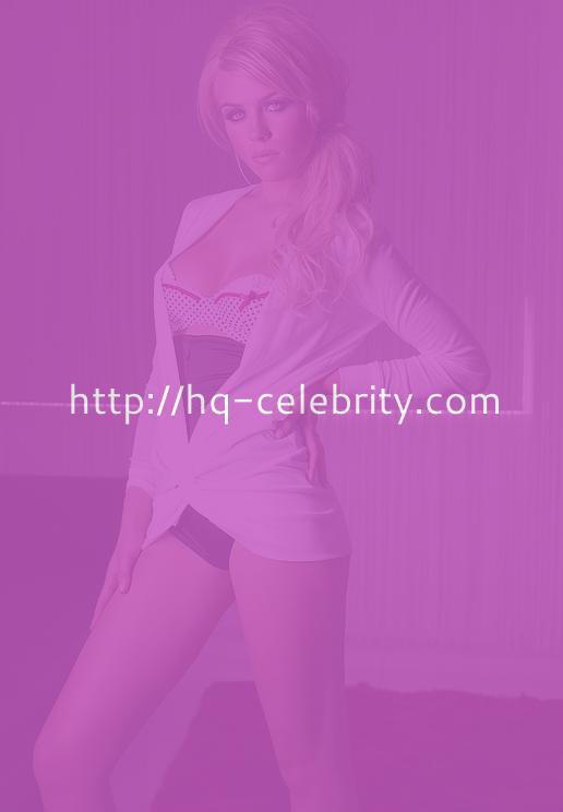 Gorgeous Abigail Clancy lingerie shoot.