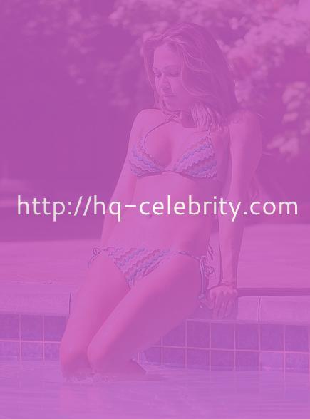 Sexy bikini pics of Adele Silva poolside in Dubai
