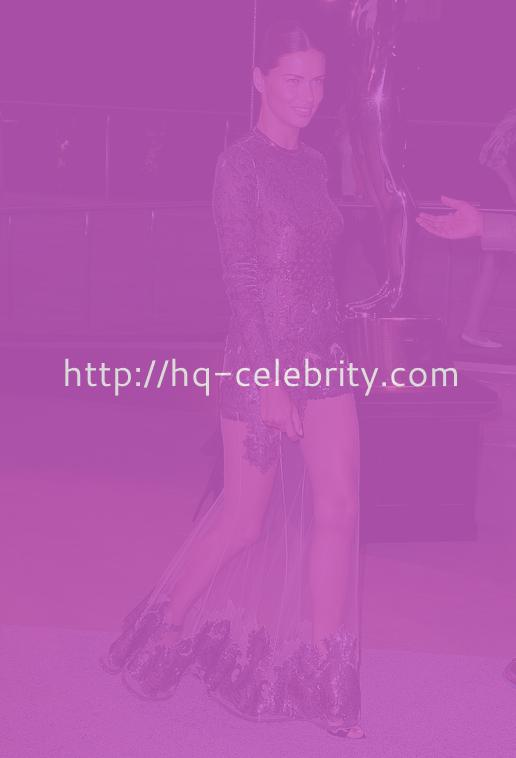 Adriana Lima Attends The Fashion Awards In NYC