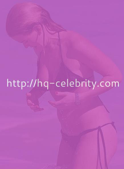 Sexy bikini pics of Alice Eve