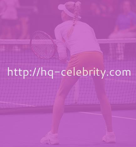 Anna Kournikova plays tennis in short skirt