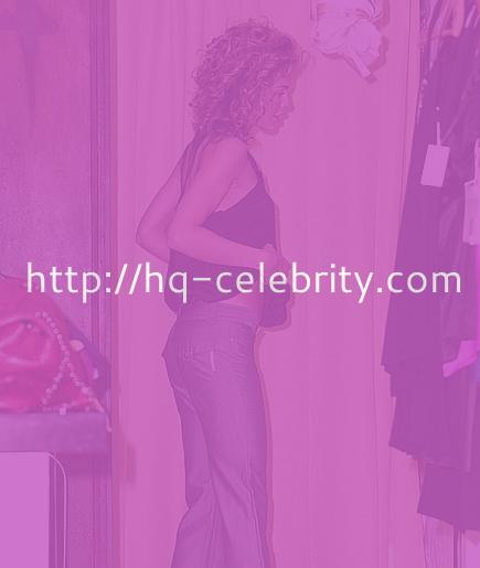 AnnaLynne McCord in the fitting room