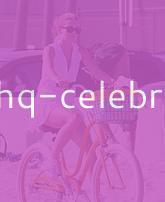 AnnaLynne McCord Goes For A Bike Ride