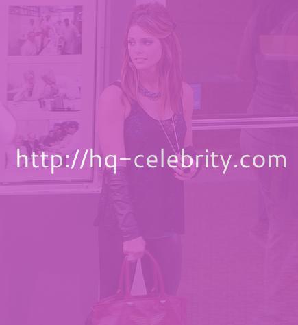 Ashley Greene on the set of L.O.L.