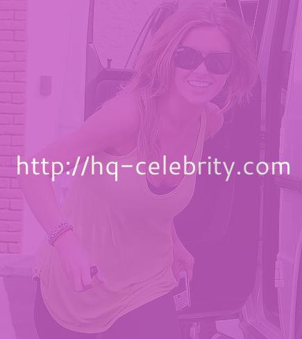 Audrina Patridge in workout clothes