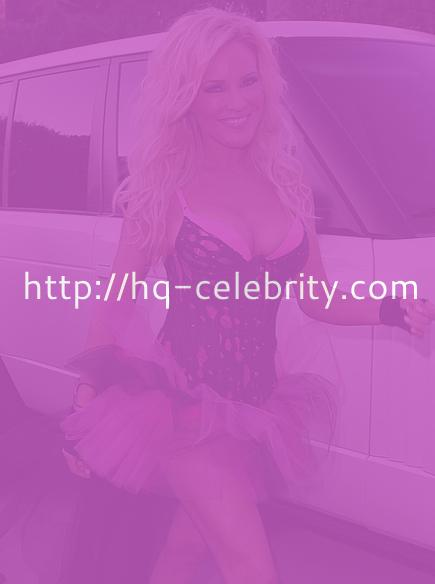 Bridget Marquardt attends a Playboy party