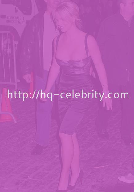 Britney Spears peekaboo low cut
