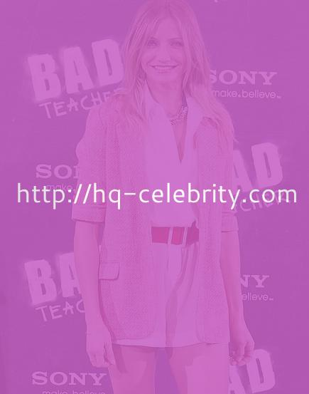 tn cameron diaz 1 Cameron Diaz at the Bad Teacher photocall