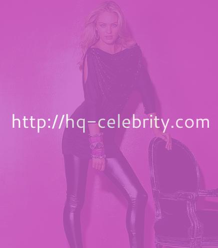 Candice Swanepoel even looks hot clothed
