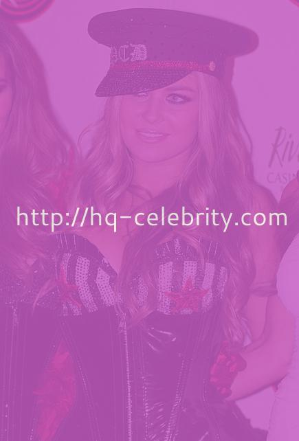 Carmen Electra with the Pussycat Dolls