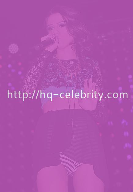New performance pics of leggy Cher Lloyd