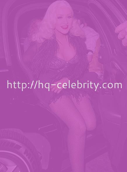 Christina Aguilera upskirt