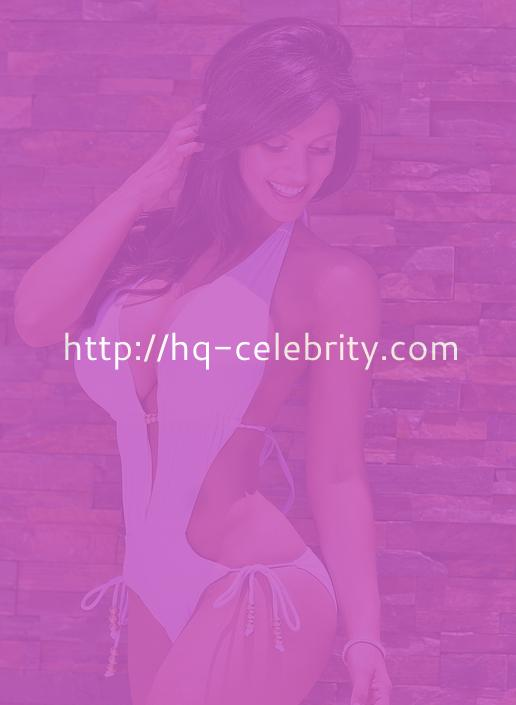 Big Breasted Denise Milani In Sexy Swimwear Shoot
