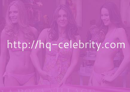 Elizabeth Hurley and sexy models
