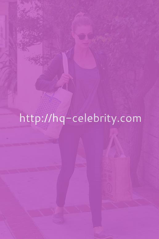 Emily Van Camp Looks Sexy In LA