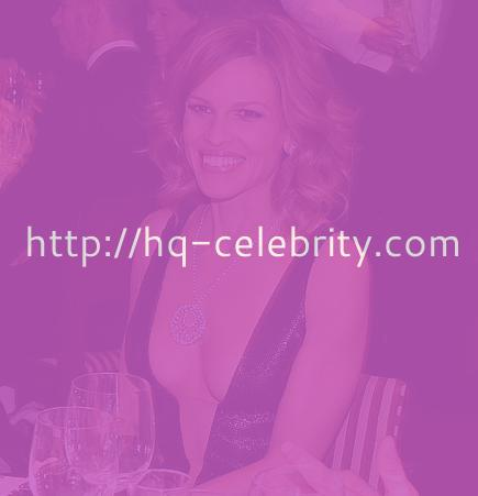 Hilary Swank reveals at the Oscar Party