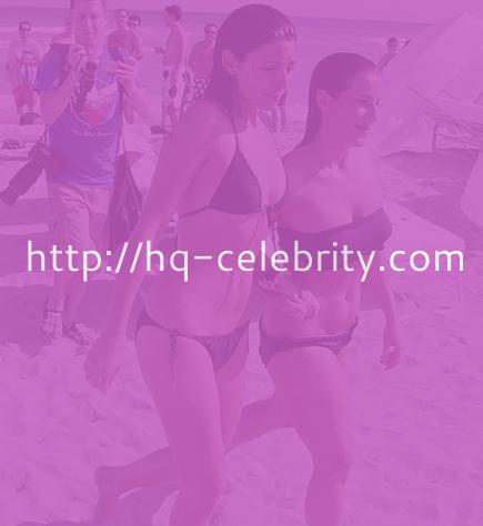 Jamie Lynn Sigler sizzles in a black bikini