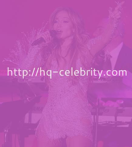 Jennifer Lopez performs in Beverly Hills