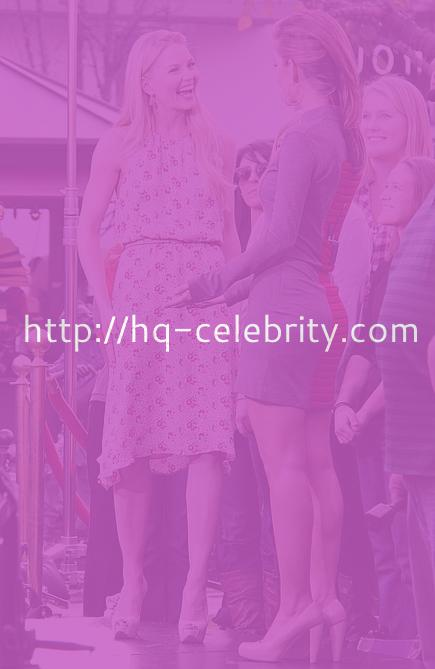 Jennifer Morrison and Maria Menounos at The Grove