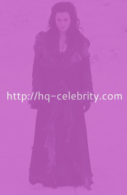 Katie McGrath looks gorgeous in this Merlin promo photo shoot.