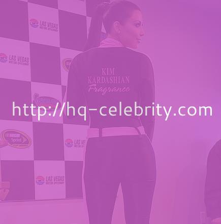Kim Kardashian in a tight jumper
