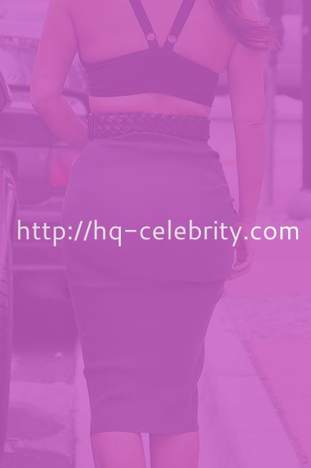 Kim Kardashian makes an ... interesting fashion choice.