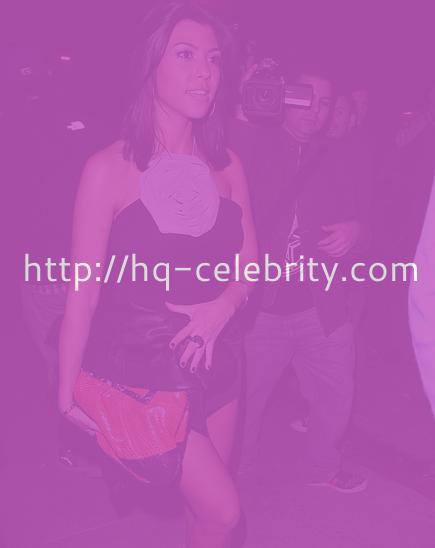 Sexy Kourtney Kardashian