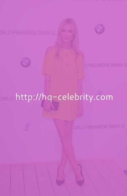 Laura Whitmore Hits Up the BMWi3 Launch in London