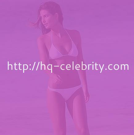Lily Aldridge is a knockout in a white bikini