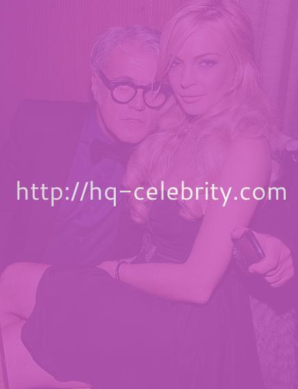 Lindsay Lohan at Giuseppe Zanotti opening