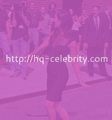 The beautiful Megan Fox in her sexy black dress
