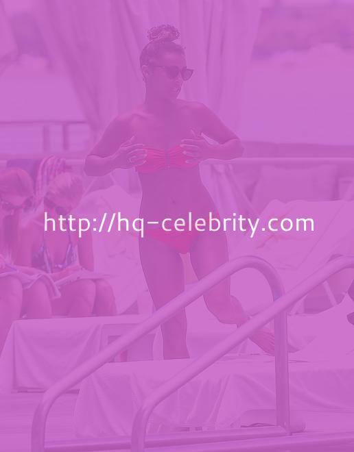 Melody Thornton In A Bikini In Miami