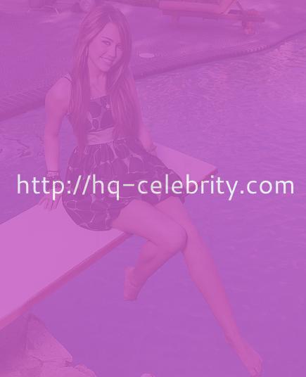 Miley Cyrus always cute