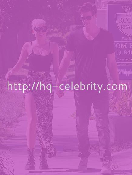 tn miley cyrus Miley Cyrus makes sure all eyes are on her in Studio City.