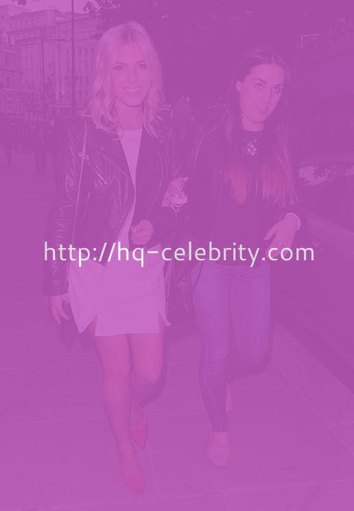 Mollie King Hits The Town In London