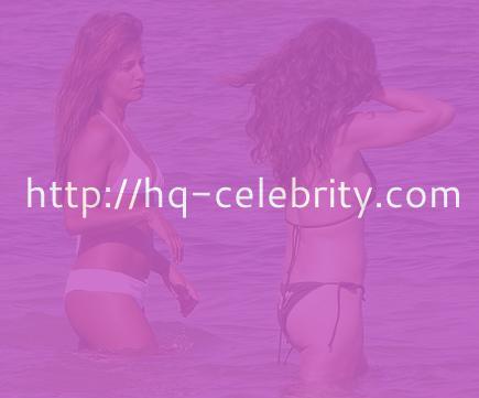 Sexy Monica Cruz heats up Ibiza