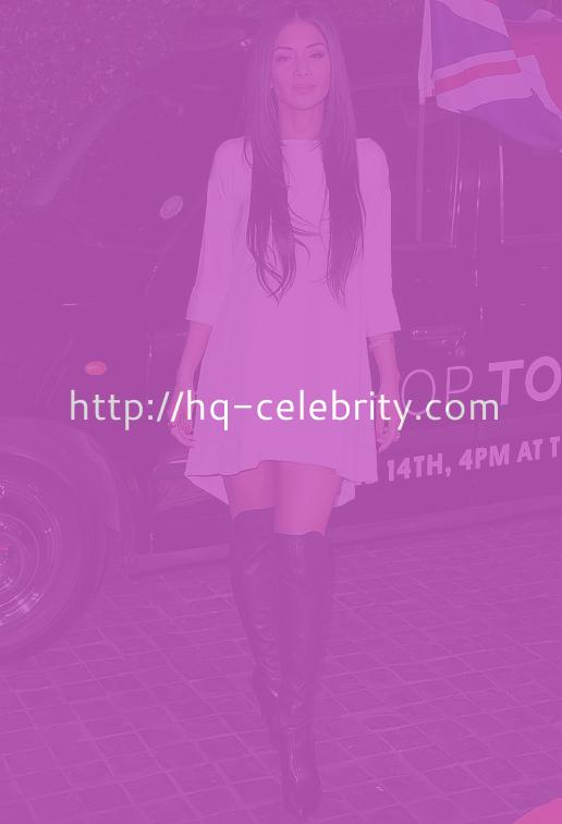 Nicole Scherzinger In Knee High Boots