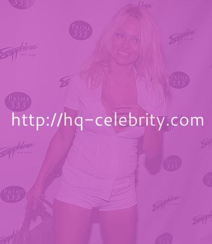 Pamela Anderson at the Sapphire Nightclub