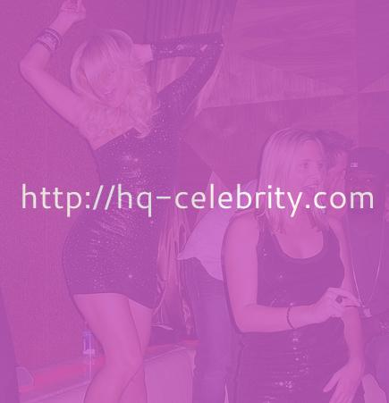 Paris Hilton at the Vanity Nightclub