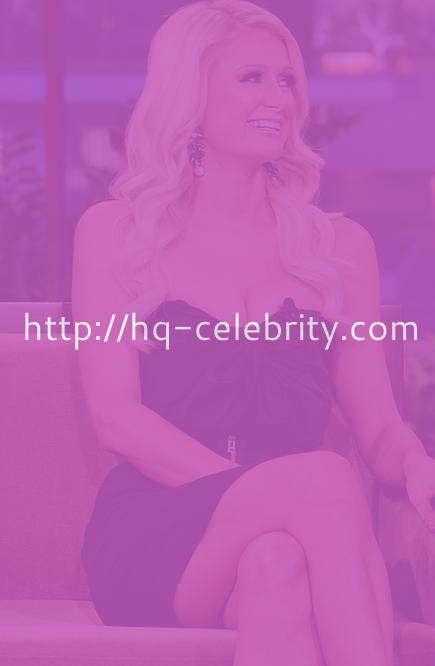 Paris Hilton on The Tonight Show