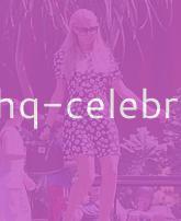 Paris Hilton And Her Pretty Floral Dress