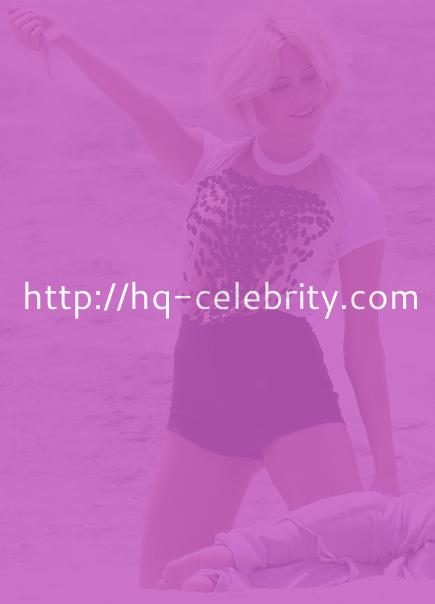 Pixie Lott in a beach photo shoot