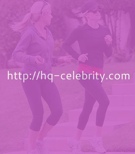 Reese Witherspoon takes a little jog