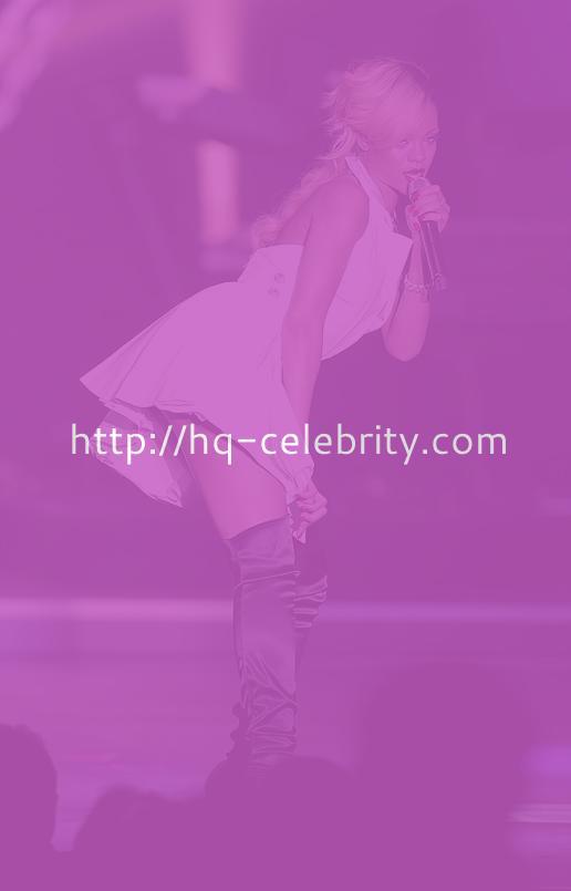 Rihanna Nip Slip Shots